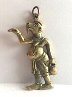 Figuren amulett miniatur Buddha Cambodia Messing  b197