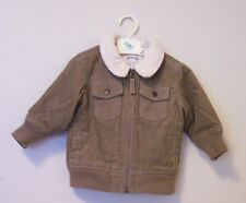 OLD NAVY CORDUROY LINED W/FAUX SHEARING  6-12 MONTHS