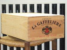1989 CHATEAU LA GAFFELIERE, 12 x 0,75l in OHK  !!! 89 PARKER !!!