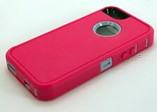 Apple iPhone 5s 5se Case & Screen Protector   Belt Clip fits Otterbox Defender