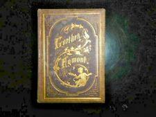 GOETHE-EGMONT-1868-ILLUSTRE PAR PAUL THUMANN-RELIURE PERCALINE SIGNEE HERZOG-