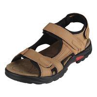 sandales garcon cuir Kaki Hommes chaussures d'ete,Taille 38 H4N9