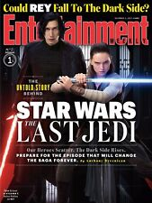 STAR WARS THE LAST JEDI MANIFESTO ENTERTAINMENT WEEKLY COVER KYLO REN REY