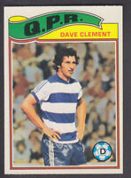 Topps - Footballers (Orange Back) 1978 - # 233 Dave Clement - QPR