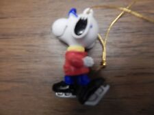 New listing Whitman's Candy Peanuts United Feature Syndicated Snoopy Ice Skating Ornament