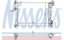 NISSENS Radiador, refrigeración del motor OPEL COMBO FIAT DOBLO VAUXHALL 630753