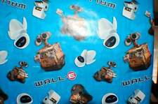 """3 Disney WALL-E Wrapping Paper by Disney/Pixar 30"""" x 72""""-Hard to Find!"""