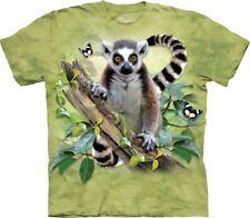 The Mountain Unisex Child Lemur & Butterflies T Shirt
