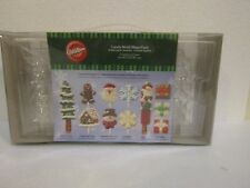 Wilton Candy Mold Mega Pack Kit 6 Holiday Candy Pretzel Molds NEW In Package
