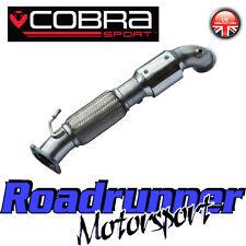 """COBRA Sport Focus ST250 SPORTS CAT TUBO DI SCOLO Di Scarico Tubo frontale 200 Cella 3"""""""
