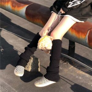 Knee High Socks Cool Elastic Winter Leg Warmers For Women Girls Sock Long 2021