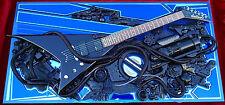 Guitar 3D ART Rhoads Jackson STARGAZER deco display studio acoustic unique  NEW