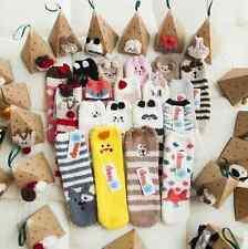 Women Lady Soft Warm Fluffy Bed Socks Gental Grip Animal Valentine's Day Gift