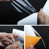 White Clear Car Door Sill Edge Paint Anti-Scratch Protector Film Vinyl Sheet DIY