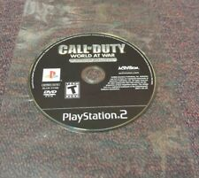 Call of Duty World at War Final Fronts (PlayStation 2) Not Working
