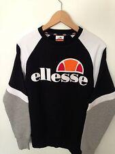 ELLESSE Mens/Woman's Size 6 Small/ Medium Black & White Sweatshirt