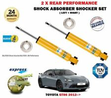 FOR TOYOTA GT86 2.0 COUPE 2012-> 2 X REAR LEFT RIGHT SHOCK ABSORBER SHOCKER SET