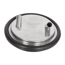Stainless Steel Bucket Pail Two Open Lid Cover For Farm Water Milk Feeding