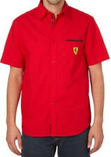 chemisette chemise manches courtes FERRARI rouge taille S - neuf