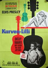 Elvis Presley Kurven Lilli Girl Happy Filmposter A1 Klaus Dill Rockabilly Plakat
