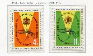 19045) United Nations (New York) 1962 MNH Neuf Anti Malaria