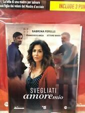 DVD + Booklet Fiction Svegliati Amore Mio la Serie TV Completa Sabrina Ferilli