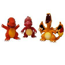 "Pokemon Charmander Charmeleon Charizard Evolution TOMY 2"" Figure CGTSJ Hasbro"