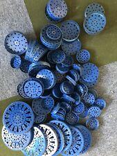 Märklin Metall Baukasten Räder Scheiben Blau ca. 4,7 kg