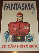 PHANTOM Brazilian Comic Book Advertising Poster FANTASMA - 1993 from Brazil