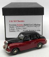 J&M Classics 1/43 Scale JC01 - Daimler Conquest Saloon - Black/Deep Red RARE!