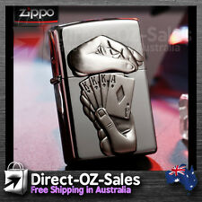 "Zippo Lighter -- OZ Seller -- ""Full House"" 28837 FREE POST!"