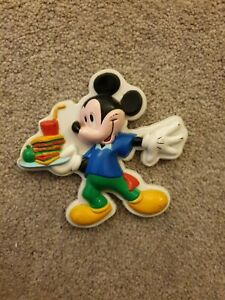 Vintage Disney Fridge Magnet featuring Mickey Mouse - Cole and Mason Ltd