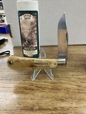 New listing Great Eastern Cutlery 43 FRONTIER Bone 431118 GEC Oregon Trapper Knife