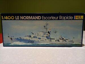 Vintage Heller 1/400 Le Normand French destroyer escort