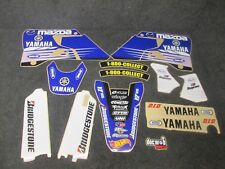 YAMAHA YZ125 YZ250 1996-2001 USA Factory team Jeremy McGrath graphics kit GR1625