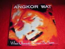 Angkor Wat - When Obscenity becomes...., RO9457 1 Vinyl LP 1989, 1. Press