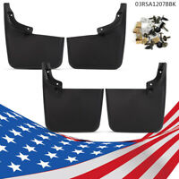 Mud Flaps Molded Splash Guards For 2004 -15 Ford F-150 Front Rear New