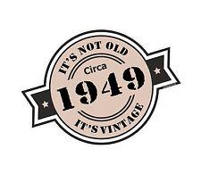 Non è vecchio intorno al 1949 ROSETTA Emblema PER CASCO DA MOTO AUTO ADESIVO VINILE