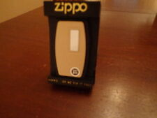 IVORY ULTRALITE ZIPPO KNIFE /NAIL FILE INITIAL PANEL 1980'S MINT IN BOX RARE