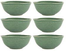 6x Ciotola per Müsli Verde Dunes H.6cm D.15cm Verde di Terraglia Ib Laursen