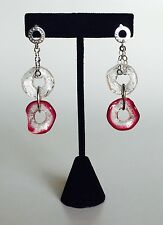 Antica Murrina Jodie--Murano Glass  And Sterling Silver Drop Earrings