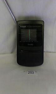 Mini - Pocket -Handheld Retro TV CASIO TV 470
