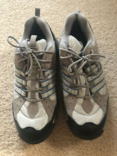 Adidas Womens US 9 Gray & Blue Outdoor Hiking Shoes - Used