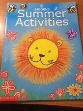 Usborne Summer Activities...Scholastic...PB