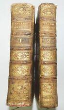 * VALERE MAXIME - 2 VOLUMES - LATIN-FRANÇOIS : TRADUCTION DU SIEUR CLAVERET 1700