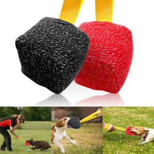 Indestructible Dogs Dog Bite Tug Toys Young Dogs Training Chew Tool for Pitbull