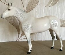 ROYAL DOULTON HORSE PONY THOROUGHBRED DA 53 DAPPLE GREY GLOSS PERFECT
