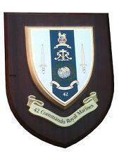 42 Commando Royal Marines Military Shield Wall Plaque