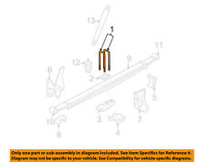 GM OEM Rear Suspension-U-bolt 15712414