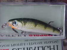 (1) Rapala Ultra Light Minnow ULM04 YP in YELLOW PERCH for Trout/Crappie/Perch